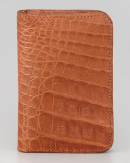 Santiago Gonzalez Crocodile Mini Wallet