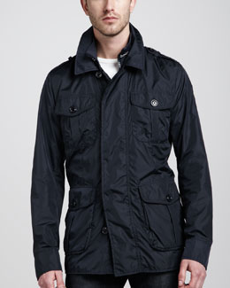 Moncler Kenya Field Jacket, Navy