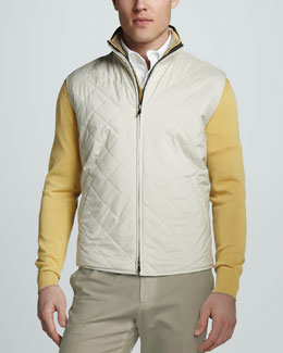 Loro Piana Windstorm Quilted Vest
