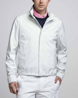 Loro Piana Windmate Jacket with Zip-Out Hood