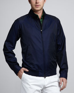 Loro Piana Cotton Rain Jacket