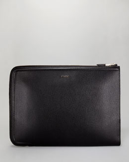 Tom Ford Leather Zip Portfolio