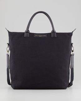 WANT Les Essentiels de la Vie O'Hare Men's Canvas Tote Bag, Black