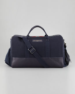 WANT Les Essentiels de la Vie Dulles Men's Gym Bag, Navy