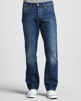 Levi's Made & Crafted Ruler Straight-Leg Wave Jeans