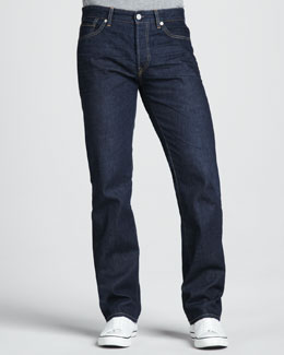 Levi's Made & Crafted Ruler Straight-Leg Crane Jeans