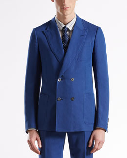 Gucci Gabardine Dandy Jacket