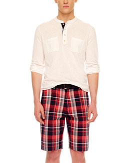 MICHAEL KORS  Madras Shorts