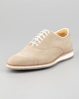 Church & Co. Limited Hirst Suede Lace-Up Oxford, Sand