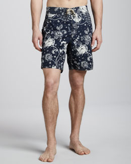 Polo Ralph Lauren Sanibel Bandana-Print Swim Trunks