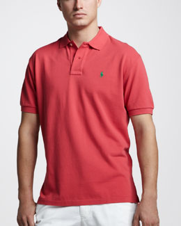 Polo Ralph Lauren Custom-Fit Polo, Sunset Red