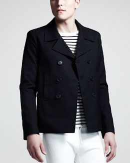 Saint Laurent Short Pea Coat