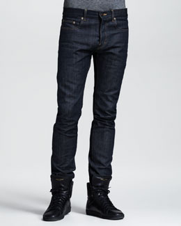 Saint Laurent Skinny Selvedge Jeans