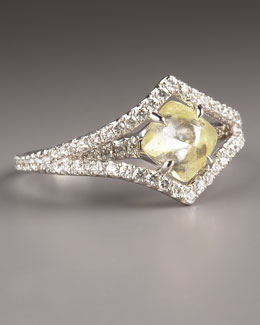 Diamond in the Rough Victorian Diamond Ring
