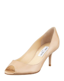 Jimmy Choo Isabel Patent Low-Heel Pump