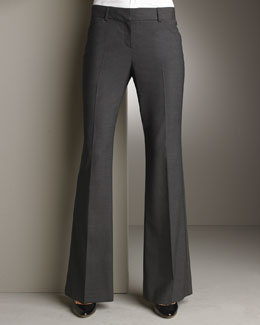 Theory Boot-Cut Pants