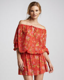 Jean Paul Gaultier Drawstring Coverup