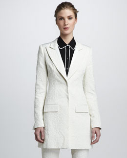 Rachel Zoe Riley Brocade Coat