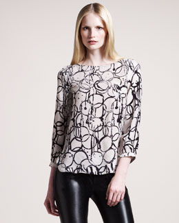 Kelly Wearstler Palermo Printed Top