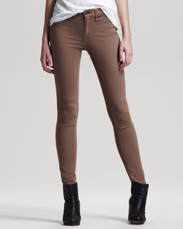 rag & bone/JEAN Twill Leggings, Shitake