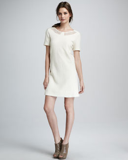 MARC by Marc Jacobs Hawthorn Lace-Inset Dress