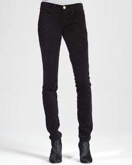 Current/Elliott The Low-Rise Skinny Jeans
