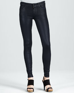Koral Skinny Midnight Coated Jeans