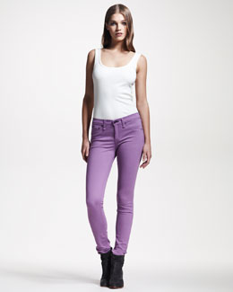 rag & bone/JEAN Plush Twill Leggings, Amethyst