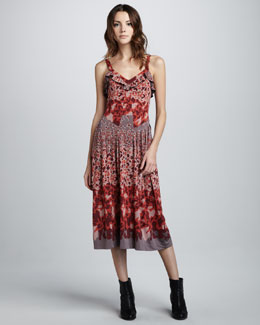 MARC by Marc Jacobs Garden-Print Jersey Dress
