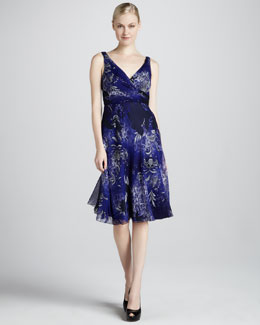 Elie Tahari Reilla Chiffon Dress