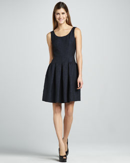 Elie Tahari Jess Textured Dress