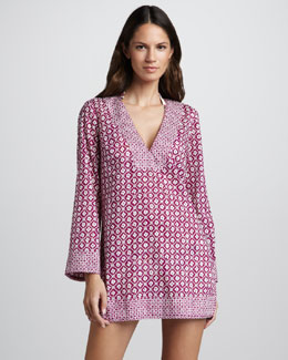 Tory Burch Biarritz Printed Tunic Coverup