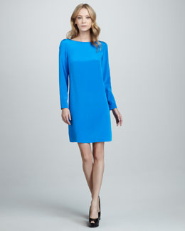 Tibi Silk Easy Dress
