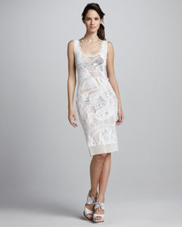 Jean Paul Gaultier Lace Coverup Tank Dress