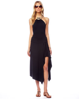 Michael Kors Draped Coverup Skirt