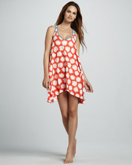 MARC by Marc Jacobs Sparks-Print Coverup Dress