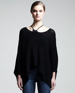 HELMUT Helmut Lang Textured Asymmetric Top