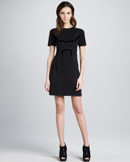 Theyskens' Theory Cherry Jersey Dress