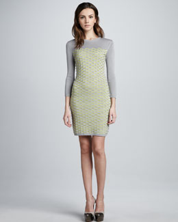 Cut25 Fish Scale Knit Dress