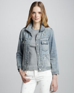 MARC by Marc Jacobs Lily Denim Jacket