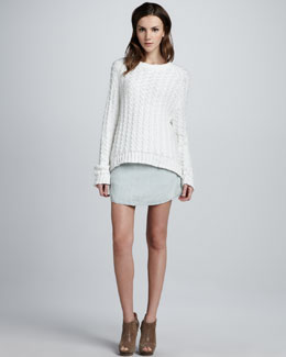 Theyskens' Theory Wecksy Rounded Skirt