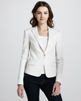 Elizabeth and James Abigail Jacquard Blazer