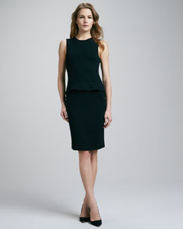 Theory Pryor Peplum Dress