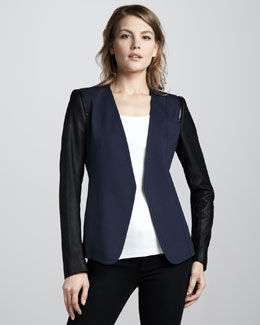 Theory Pryor Two-Tone Blazer