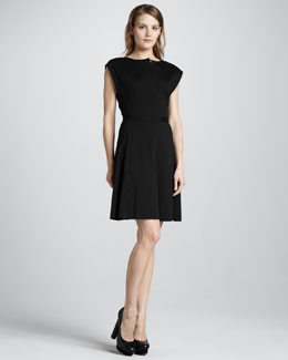 Theory Luxe A-Line Dress