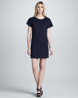 Theory Gessi Back-Zip Dress