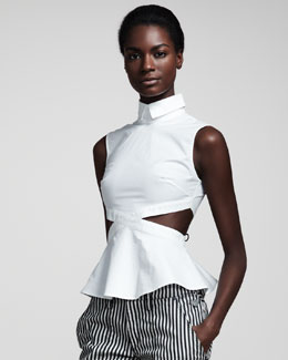 Opening Ceremony Austin Cutout Top