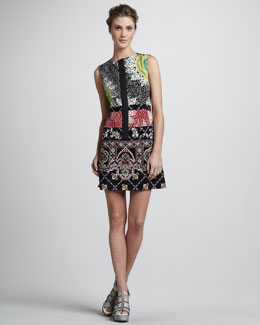 Nanette Lepore Rodeo Medallion Dress