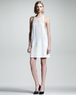 ALC Nola Cotton Racerback Dress