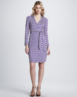 Diane von Furstenberg New Jeanne Two Silk Wrap Dress